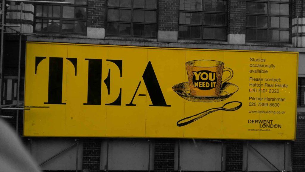 Affiche Café Londres