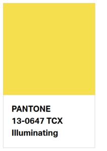 Pantone 17-5104 illuminating