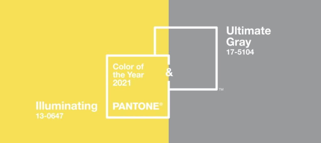 Couleur de l'année 2021 - Pantone
